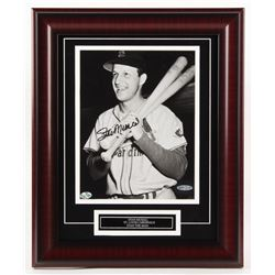 Stan Musial Signed St. Louis Cardinals 14x18 Custom Framed Photo Display (Your Sports Memorabilia St