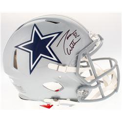 Jason Witten Signed Dallas Cowboys Authentic On-Field Full-Size Speed Helmet (JSA COA  Witten Hologr