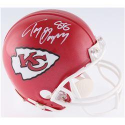Tony Gonzalez Signed Kansas City Chiefs Mini-Helmet (JSA COA)