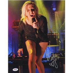 Ellie Goulding Signed 11x14  Photo (PSA COA)