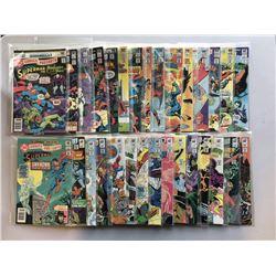 Lot of (30) 1980-1983 DC Comic Presents Superman Comic Books