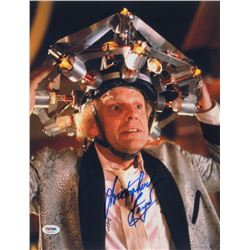 "Christopher Lloyd Signed ""Back to the Future"" 11x14 Photo (PSA COA)"