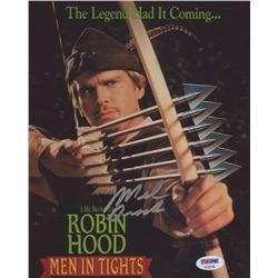 "Mel Brooks Signed ""Robin Hood: Men In Tights"" 8x10 Photo (PSA COA)"