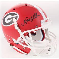 Nick Chubb Signed Georgia Bulldogs Full-Size Helmet (Radtke COA)
