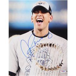Alex Rodriguez Signed New York Yankees 11x14 Photo (PSA COA)