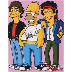 "Dan Castellaneta Signed ""The Simpsons"" 11x14 Photo (Beckett COA)"