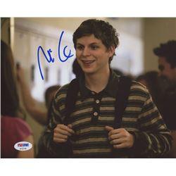 Michael Cera Signed 8x10 Photo (PSA COA)