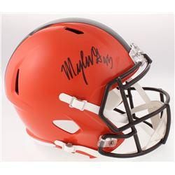 Myles Garrett Signed Cleveland Browns Full-Sized Speed Helmet (JSA COA)