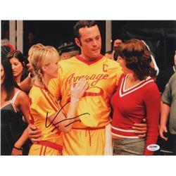 """Vince Vaughn Signed """"DodgeBall: A True Underdog Story"""" 11x14 Photo (Beckett COA)"""