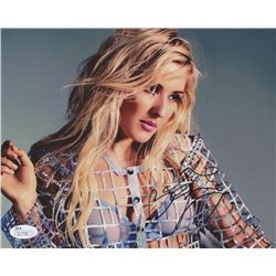 Ellie Goulding Signed 8x10 Photo (JSA COA)