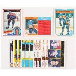 Lot of (13) 1979-1984 Wayne Gretzky Hockey Cards