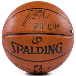 "Damian Lillard Signed Limited Edition NBA Game Ball Series Basketball Inscribed ""Rip City"" (Panini C"