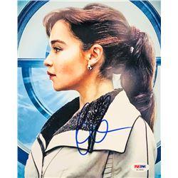 """Emilia Clarke Signed """"Solo"""" 8x10 Photo (PSA COA)"""