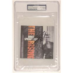 """Bruce Springsteen Signed """"The Rising"""" CD Cover (PSA Encapsulated)"""