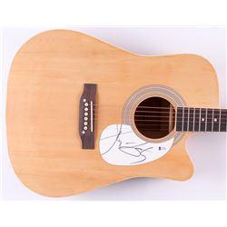 "John Fogerty Signed 41"" Acoustic Guitar (Beckett COA)"