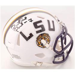 Patrick Peterson Signed LSU Tigers Speed Mini Helmet (Radtke COA)
