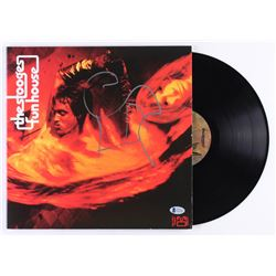 "Iggy Pop Signed The Stooges ""Fun House"" Vinyl Record Album (Beckett COA)"