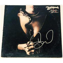 "David Coverdale Signed ""Slide It In"" Vinyl Album Cover (PSA COA)"