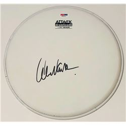 Alex Van Halen Signed Drumhead (PSA COA)