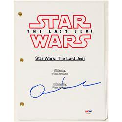 "Oscar Isaac Signed ""Star Wars: The Last Jedi"" Full Movie Script (PSA COA)"