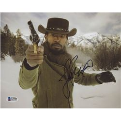 "Jamie Foxx Signed ""Django Unchained"" 8x10 Photo (Beckett COA)"