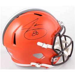 Jarvis Landry Signed Cleveland Browns Full-Size Speed Helmet (Radtke COA)