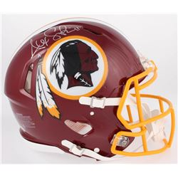 Alex Smith Signed Washington Redskins Full-Size Authentic On-Field Speed Helmet (Beckett COA)