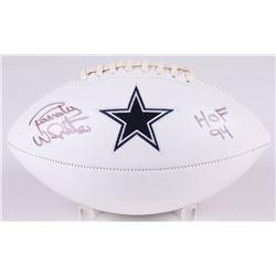 "Randy White Signed Dallas Cowboys Logo Football Inscribed ""HOF 94"" (JSA COA)"