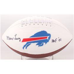 "Marv Levy Signed Buffalo Bills Logo Football Inscribed ""HOF 01"" (Jersey Source COA)"