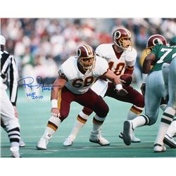 "Russ Grimm Signed Washington Redskins 16x20 Photo Inscribed ""HOF 2010"" (JSA COA)"