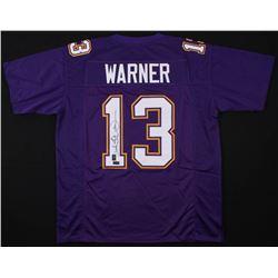 Kurt Warner Signed Jersey (Radtke COA  Warner Hologram)