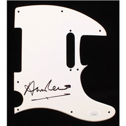 Annie Lennox Signed Electric Guitar Pickguard (JSA COA)