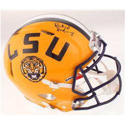 Patrick Peterson Signed LSU Tigers Full-Size Speed Helmet (Radtke COA)