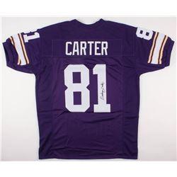 Anthony Carter Signed Jersey (JSA COA)