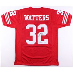 """Ricky Watters Signed Jersey Inscribed """"SB XXIX Champs"""" (SGC COA)"""