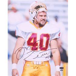 Mike Alstott Signed Tampa Bay Buccaneers 16x20 Photo (Radtke COA)