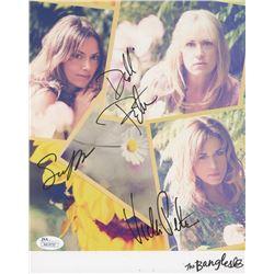 "Susanna Hoffs, Debbi Peterson  Vicki Peterson Signed ""The Bangles"" 8x10 Photo (JSA COA)"