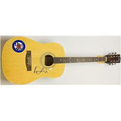 "Roger Daltrey Signed ""The Who"" Full-Size Acoustic Guitar (JSA COA)"