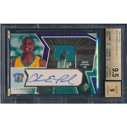 2005-06 SPx #153 Chris Paul Jersey Autograph RC (BGS 9.5)
