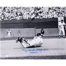 "Brooks Robinson Signed Baltimore Orioles 16x20 Photo Inscribed ""HOF 83"" (JSA COA)"