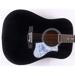 "James Taylor Signed 41"" Acoustic Guitar (PSA COA)"