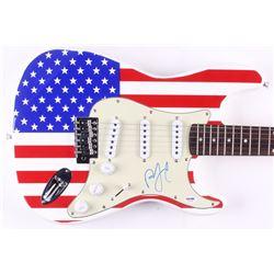 "Billy Joel Signed Huntington 39"" Electric Guitar (PSA COA)"