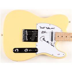 "Ramblin' Jack Elliott Signed Huntington 39"" Electric Guitar Inscribed ""Don't Tell Me!"" (PSA COA)"