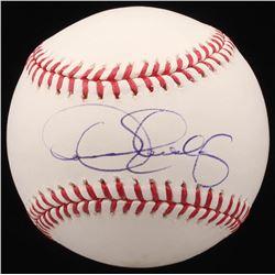 Dennis Eckersley Signed OML Baseball (PSA COA)