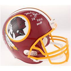 John Riggins, Mark Rypien  Doug Williams Signed Washington Redskins Full-Size Helmet with Multiple I