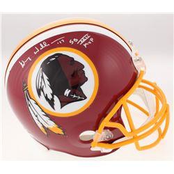 "Doug Williams Signed Washington Redskins Full-Size Helmet Inscribed ""SB XXI MVP"" (JSA COA)"