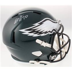 DeSean Jackson Signed Philadelphia Eagles Full-Size Speed Helmet (Radtke COA)