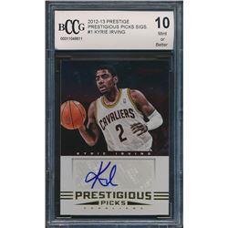 2012-13 Prestige Prestigious Picks Signatures #1 Kyrie Irving (BCCG 10)