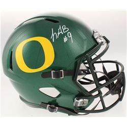 LeGarrette Blount Signed Oregon Ducks Full-Size Speed Helmet (Radtke COA)