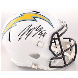 Joey Bosa Signed Los Angeles Chargers Full-Size Speed Helmet (Radtke COA)